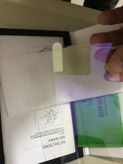 ESCASE iPhone8/7/6s/6钢化膜 苹果8/7/6/6s手机膜吃鸡王者荣耀游戏紫光玻璃手机贴膜0.15MM厚进口玻璃 ES06+ 晒单图