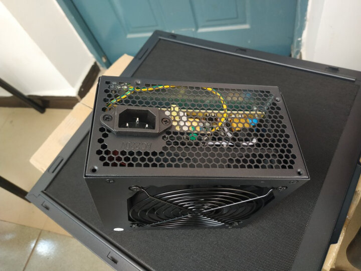 爱国者(aigo)额定350W 黑暗骑士500DK台式主机电脑电源(三年质保/宽幅节能省电/支持背线) 晒单图