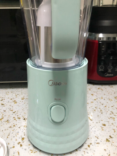 美的(Midea)料理机家用榨汁机 多功能三杯搅拌机 婴儿辅食机 果汁机 干研磨机 绞肉机WBL2531H 晒单图