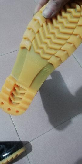 回力雨鞋男士中高筒防水雨鞋户外雨靴套鞋 HXL807 黑色高筒 41码 晒单图