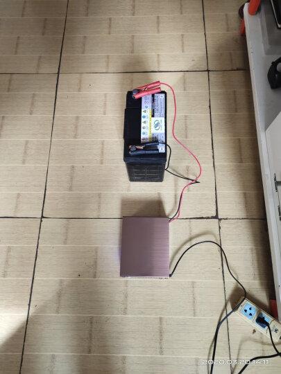 微红人 智能数显汽车电瓶充电器12V24V伏小车摩托车启停轿车货车 全自动脉冲修复冲蓄电池充电机纯铜 晒单图