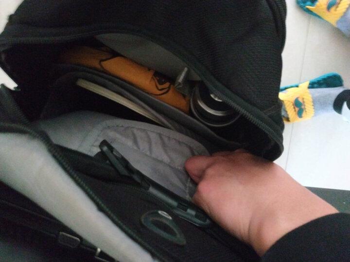 维多利亚旅行者(victoriatourist)防水面料15.6英寸运动休闲电脑包 标准型护脊双肩包电脑背包 V6060黑色 晒单图