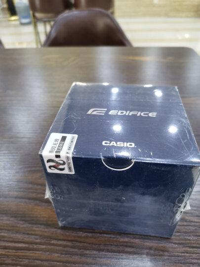 卡西欧(CASIO)手表 EDIFICE 人工合成蓝宝石玻璃商务男表 太阳能电波石英表 EQW-T640YDB-1A 晒单图