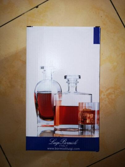 路易治 波米奥尼 进口无铅水晶玻璃酒瓶空酒瓶泡酒瓶洋酒威士忌红酒白酒储酒樽礼盒 酒壶 A款圆型700ml 晒单图