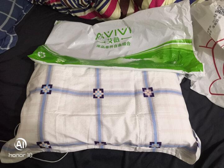 艾薇 床品家纺 决明子枕芯颈椎香薰学生枕头芯+枕套装45*70CM(全棉枕套随机颜色) 晒单图