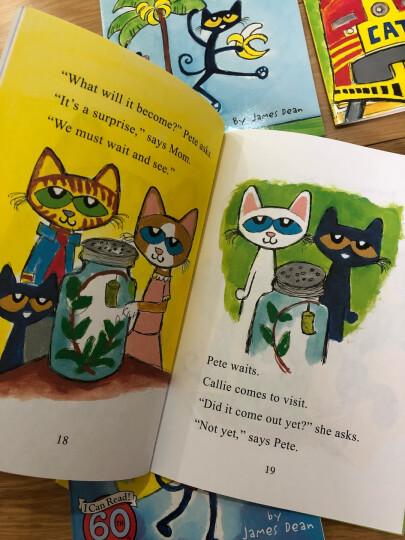 英文原版绘本Pete the Cat and the Bad Banana皮特猫和坏香蕉 ICR系列 晒单图