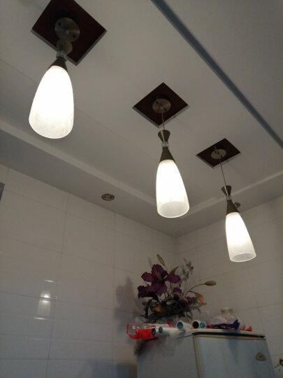 雷士照明(NVC)8w暖黄光 节能灯2700K E27大口螺旋灯泡球泡 大功率瓦数光源家用商用 单只装 晒单图