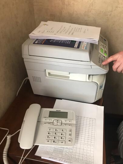 飞利浦(PHILIPS)电话机座机 固定电话 办公家用 来电显示 双接口 免电池 CORD118白色 晒单图