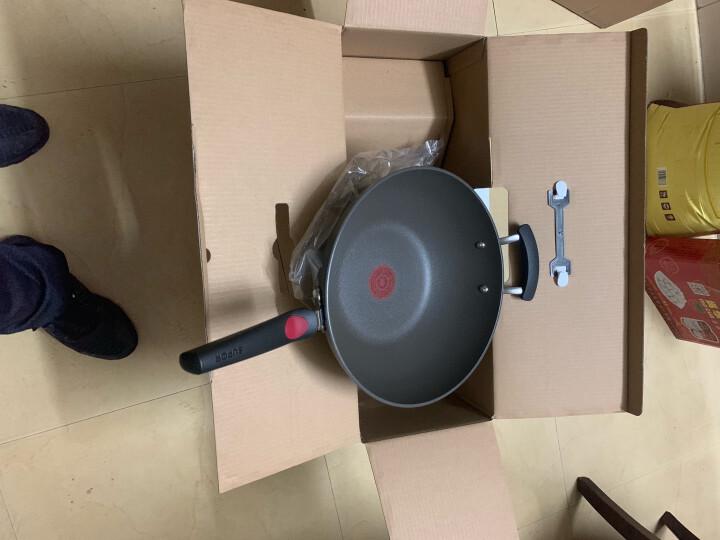苏泊尔supor 火红点3代钛Pro无油烟不粘炒锅32cm电磁炉通用 可立盖EC32HP01 晒单图