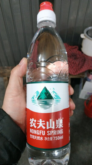 农夫山泉 饮用水 饮用天然水750ml运动盖 1*15瓶 整箱装 晒单图