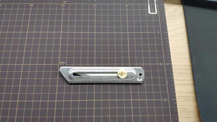 日本进口OLFA爱利华CK-2不锈钢刀 雕刻刀手工模型专用刀木工刻刀学生美术石膏雕刻刀裁纸木艺嫁接刀 晒单图