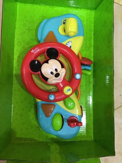 英纷0704D方向盘迪士尼宝宝玩具模拟仿真驾驶方向盘婴儿车挂件带音乐多功能宝宝床头玩具 晒单图