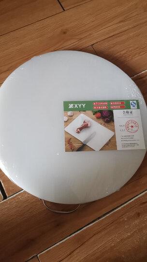香悠悠(XIANGYOUYOU) 防霉圆形塑料菜板加厚家用厨房切菜板菜墩砧板粘板肉墩刀板案板 直径43cm*高2cm 晒单图