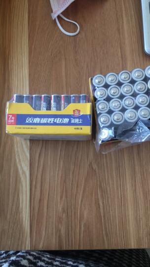 双鹿5号碳性电池 适用于儿童玩具/遥控器/挂钟/闹钟 R6/AA电池 40粒盒装 晒单图