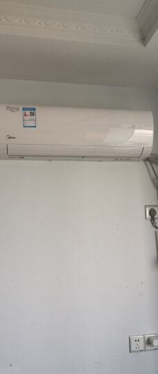 美的(Midea) 空调挂机 壁挂式 定频冷暖 家用舒适 卧室 省电星 大1.5匹KFR-35GW/DY-DH400(D3 晒单图