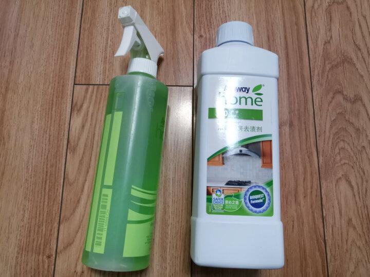 安利(Amway) Amway 安利浓缩厨房去渍剂 1升 油烟清洗剂除油净 厨房清洁用品 (厨房+塑料瓶)一套 晒单图