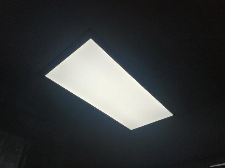 佛山照明(FSL)集成吊顶灯LED吸顶灯铝扣板面板灯300*600长形22W白光典雅金 晒单图