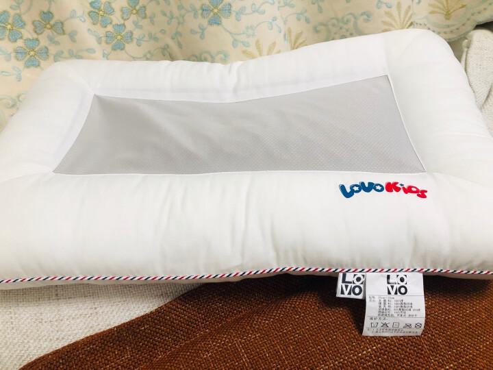 LOVO罗莱生活出品 儿童全棉枕决明子荞麦壳枕头枕芯 35*55cm 晒单图