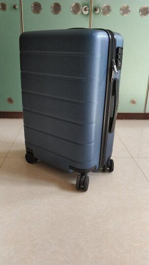 小米(MI)90分旅行箱拉杆箱 男女万向轮登机行李箱 20英寸 幻夜黑 晒单图