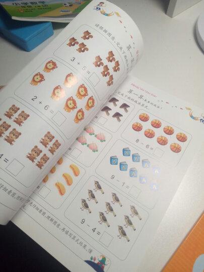 阶梯数学思维训练 数学启蒙 幼小衔接阶梯教程5-6岁(全4册)真果果出品 晒单图