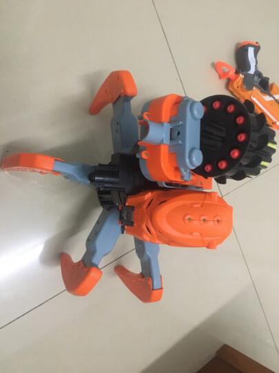 星际战士电动遥控机器人智能对打2.4G全地形操控对战六脚蜘蛛亲子对战玩具 战斗飞弹30发装 晒单图
