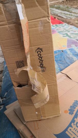 卡贝(cobbe) 太空铝厨房置物架壁挂收纳架筷子筒刀架调料架厨房用品 B2亮面款60CM双杯 晒单图