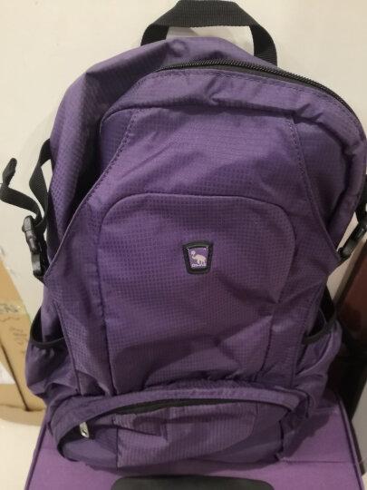 爱华仕(OIWAS)商务休闲背包 大容量户外旅行双肩背包 男女运动包4040红色 晒单图