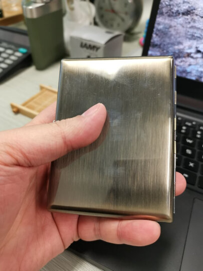 清明上河图金属烟盒20支装防潮防压带打火机带USB充电防风打火机送老公送客户送领导 晒单图