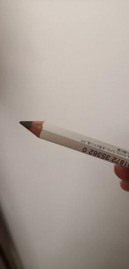 资生堂(Shiseido) 自然之眉墨铅笔 六角眉笔 易上色 显色自然 1.2g 4号 灰色 晒单图