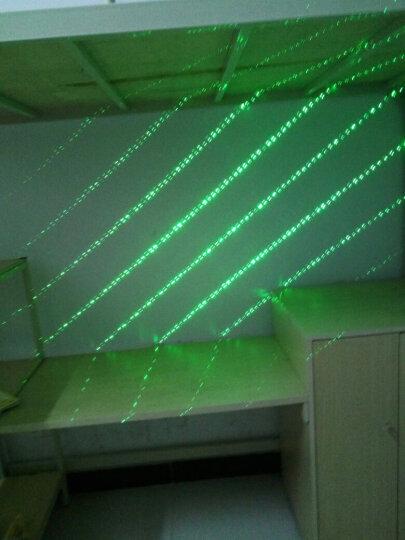 狂火 大功率超远满天星镭射激光手电筒 导游绿光红外线灯天文教学逗猫指星笔沙盘售楼教鞭指示器 黑色(2电1充5头) 晒单图