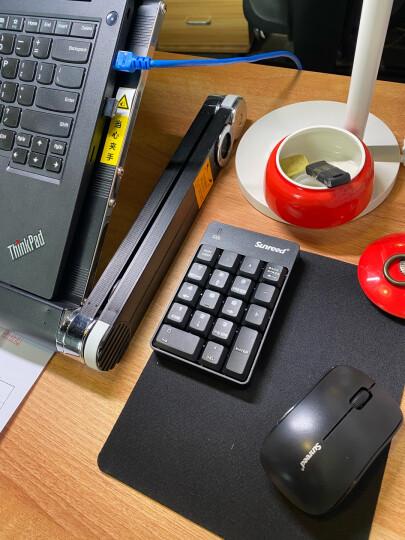 桑瑞得(Sunreed)051无线数字小键盘笔记本台式电脑独立外接USB有线键盘鼠标套装财务会计 2.4G无线051款【同步版】 晒单图