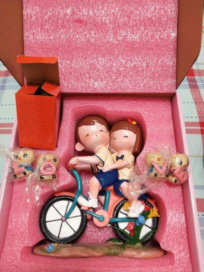 金火把 单车情侣生日礼物情人节送女友男友女朋友女孩儿童闺蜜妈妈老婆创意520实用表白女神结婚纪念日礼盒款 晒单图