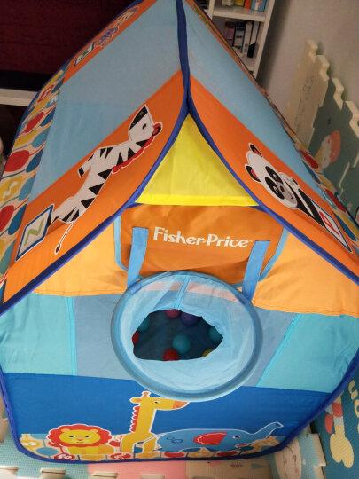 费雪Fisher Price儿童围栏帐篷 室内外宝宝玩具游戏屋海洋球池 男女孩幼儿园开学必备 森林梦幻屋 送50海洋球 晒单图