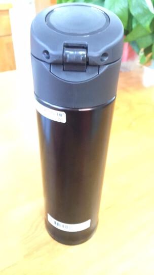象印(ZO JIRUSHI)保温保冷杯 480ml不锈钢真空户外防漏弹盖直饮水杯子 SM-KB48-AW 晒单图