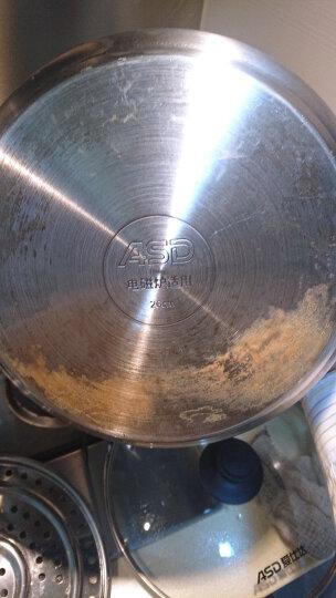 爱仕达 蒸锅蒸笼 不锈钢蒸馒头二层锅 大号蒸屉家用双层 电磁炉蒸锅燃气通用 QVL1526(WG) 晒单图