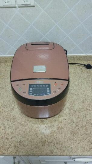 海尔(Haier)HRC-FS4028 智能电饭锅4L容量 24小时预约智能控温 黄晶不粘内胆 晒单图