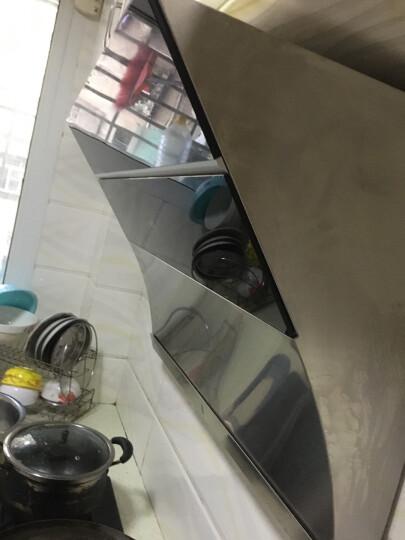 华帝(VATTI)油烟机 侧吸式抽油烟机家用吸油烟机 20立方米瞬吸大吸力 高频自动清洗 CXW-238-i11083 晒单图