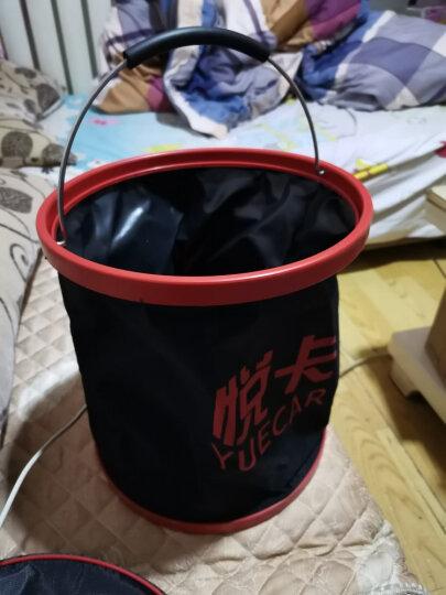 悦卡(YUECAR)洗车水桶 户外折叠水桶 车用便携收纳桶 牛津布钓鱼水桶(11L款) 晒单图