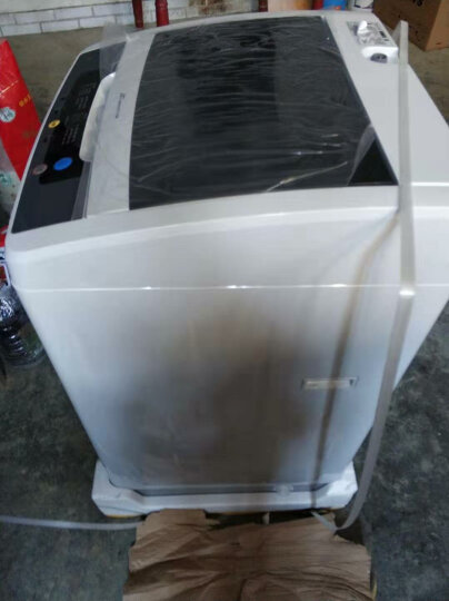 三洋(SANYO) 8公斤全自动波轮洗衣机 WIFI云洗 全模糊洗涤 微联智能APP控制 亮灰色 WT8455IM0S 晒单图