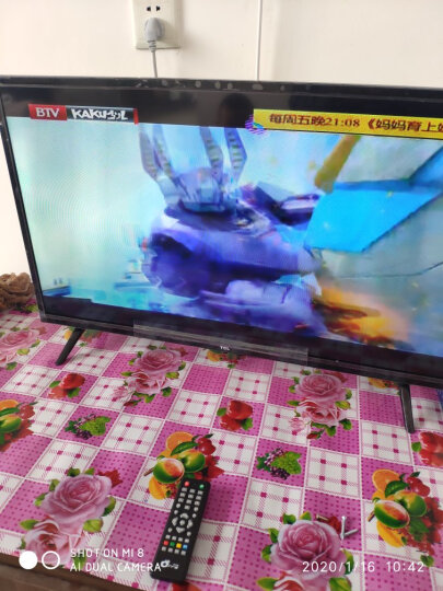 TCL D55A810 55英寸 观影王智能版 内置WIFI 八核安卓智能电视(金色) 晒单图