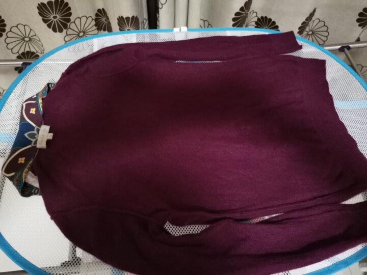 爱洗 晒衣篮晾衣网双层晾衣篮网兜毛衣晒衣网晾衣架 双层一围一包直径52cm-LS008 晒单图