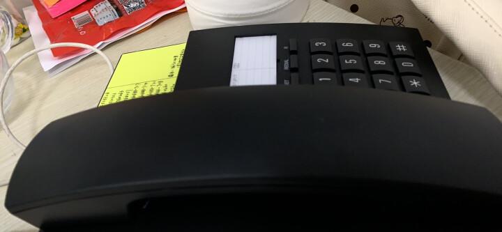 集怡嘉(Gigaset)原西门子品牌 电话机座机 固定电话 办公家用 免电池 桌墙两用可壁挂 802黑色 晒单图
