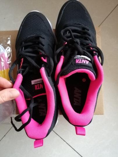 安踏女鞋秋季2020年女鞋新品运动鞋男女情侣同款运动鞋休闲鞋子 象牙白/黑/一度灰 36 晒单图