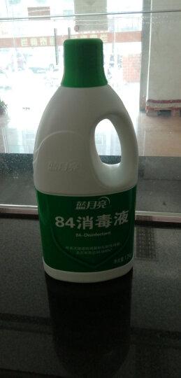 蓝月亮 84消毒液 1.2kg/瓶*4 消毒水 杀菌率99.999% 家庭果蔬玩具宠物等多用途可用 漂白 晒单图
