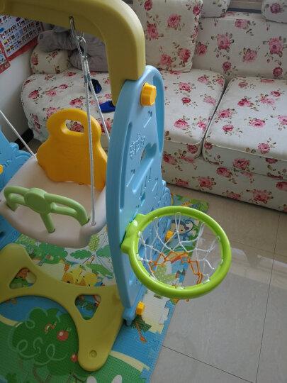 诺澳 儿童乐园室内滑梯+篮球架+小蓝球 滑滑梯家用幼儿园宝宝游乐场 小孩玩具1-3-6男女孩适用 晒单图
