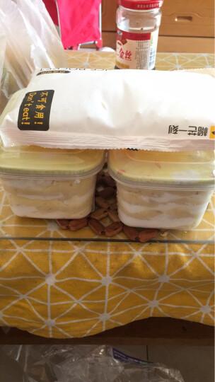 榴芒一刻 榴莲千层盒子蛋糕 金枕头榴莲肉 果肉含量约250g 下午茶甜品450g盒装 全国顺丰空运 2盒榴莲盒子 晒单图