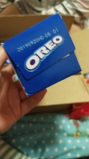 奥利奥(Oreo)巧轻脆薄片夹心饼干休闲零食糕点95g*8盒 混合 晒单图