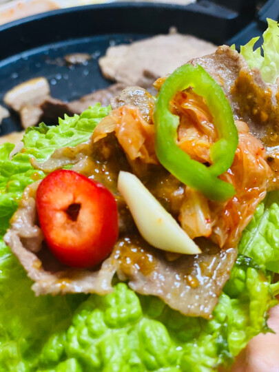 任性生鲜 雪花牛小排 200g 韩式烧烤食材 烤肉 牛肉 礼盒 晒单图