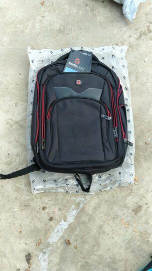 SWISSGEAR 电脑双肩包书包 男士商务背包 防泼水14.6英寸笔记本双肩背包SA-9812黑色 晒单图
