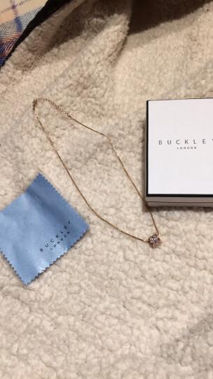 Buckley London巴克利 项链女款锁骨链ICE CUBE吊坠 生日情人节礼物 晒单图